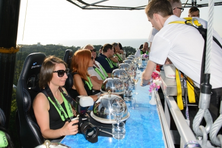 """DINNER IN THE SKY"" OPENING EVENT IN JŪRMALA"