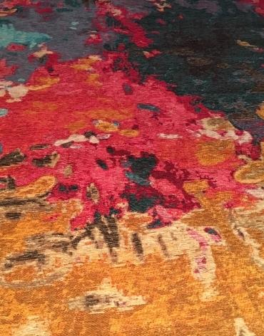 Krāsains paklājs
